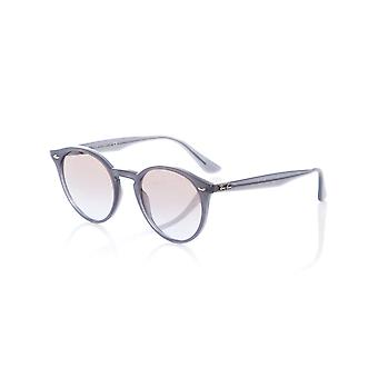 Ray-Ban Opal Grey-Violet Gradient Brown Mirror Silver 0RB2180 - 51mm Womens Sung