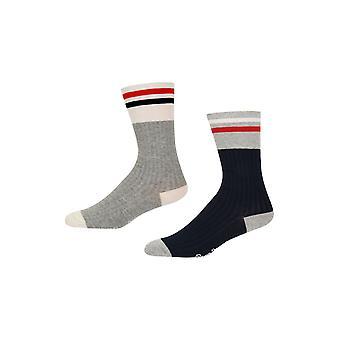 New Designer Womens Pepe Jeans Rib Socks Justice Gift Set