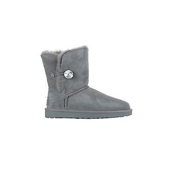 UGG W Bailey Button Bling 1016553GREY universal winter women shoes