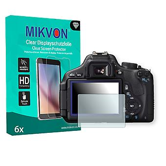 Canon EOS Kiss X5 Screen Protector - Mikvon Clear (Retail Package with accessories)