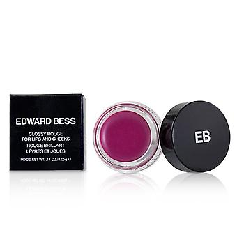 Edward Bess Glossy Rouge For Lips And Cheeks - # Candid Rose - 4.05g/0.14oz