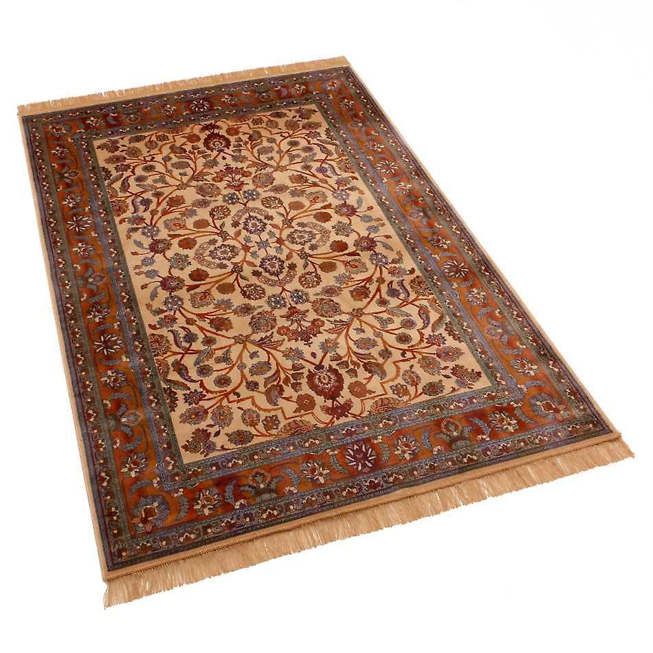Afghan Ziegler Artsilk Faux Silk Effect Rugs 5663/4 140 x 200cm