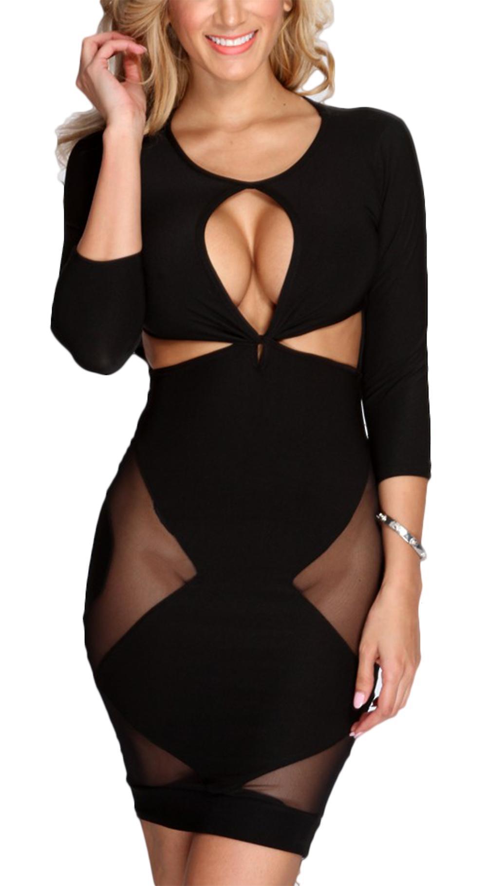 Waooh - Sexy Dress Ajourée Mailix
