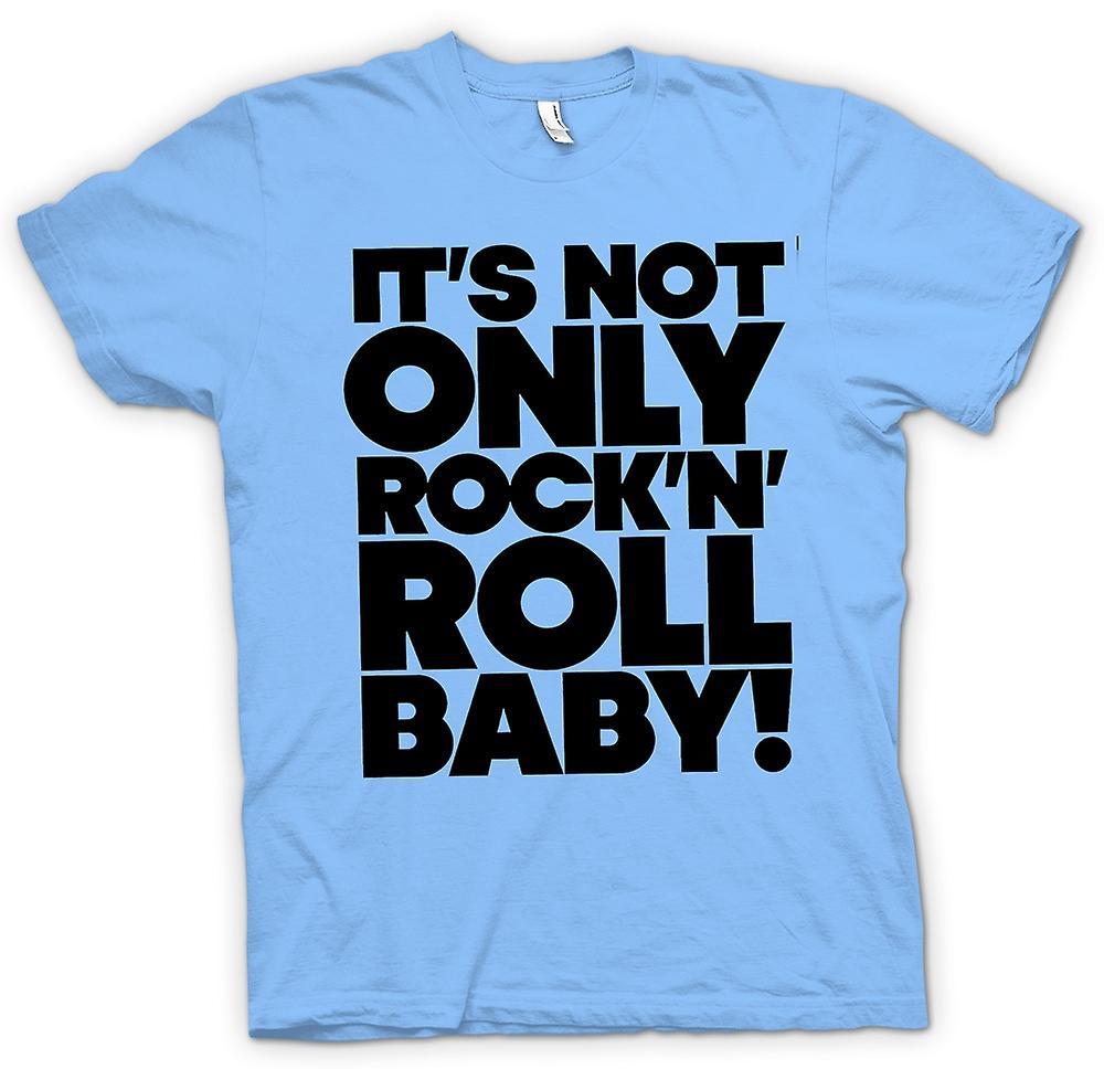 Mens T-shirt - Niet alleen Het is Rock n Roll baby
