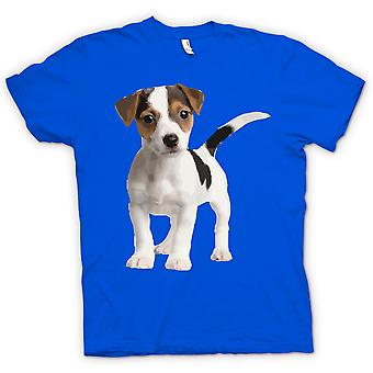 Hommes T-shirt - Jack Russell Terrier Puppy - mignon