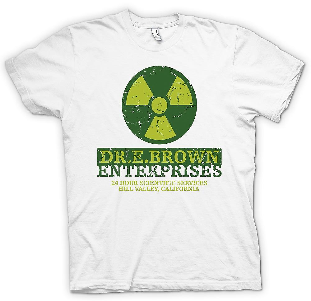 Womens T-shirt - Dr E Brown Enterprises - retour vers le futur