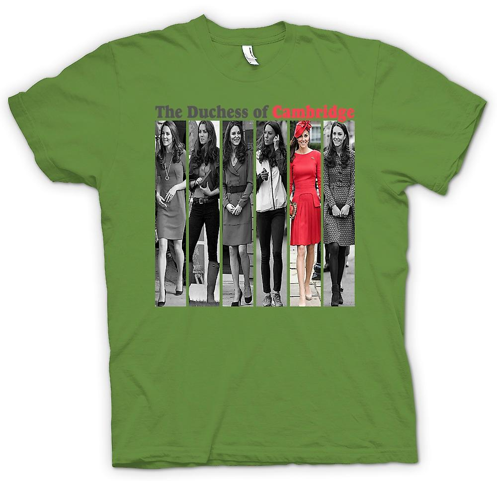 Heren T-shirt - de hertogin van Cambridge - Kate Middleton