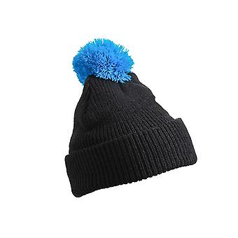 Myrtle Beach Adults Unisex Pompom Hat With Brim