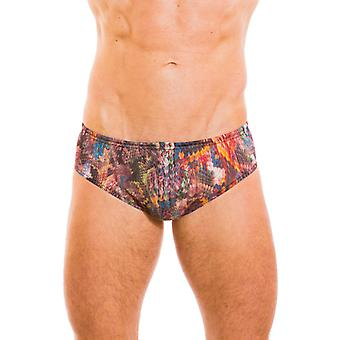 Kiniki Ramona Tan ThroughDeep Waist Swim Brief Mens Swimwear