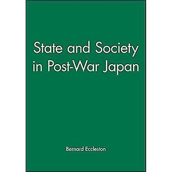 État et société au Japon de l'après-guerre