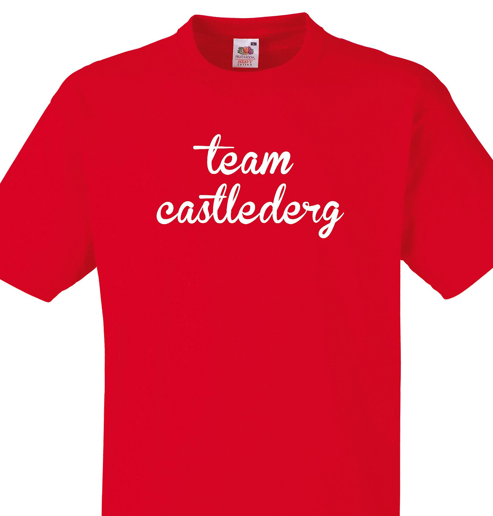 Team Castlederg Red T shirt