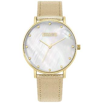 Missguided | Ladies Gold Leather Strap | MG014GG Watch
