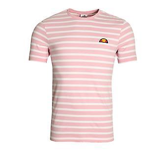 Ellesse Sailio randig T-Shirt | Ljus rosa