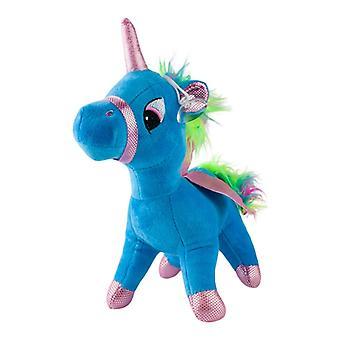 Yksisarvinen, muhkeat lelut ja täytetyt eläimet-sininen