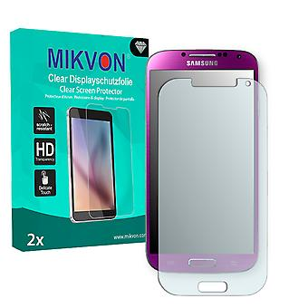 Samsung I9507 Galaxy S4 TDD LTE Screen Protector - Mikvon Clear (Retail Package con accessori)