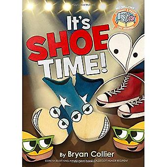 Elephant & Piggie Like Reading! It's Shoe Time! (Elephant & Piggie Like Reading!)