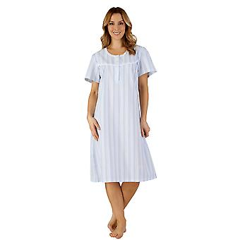 Slenderella ND3221 Women's Woven Night Gown Loungewear Nightdress