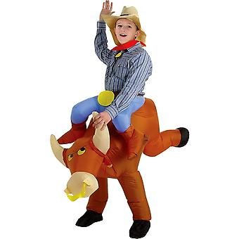 Bull Rider Inflatable Costume - 20561