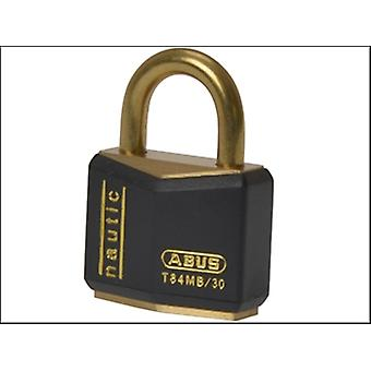 ABUS T84MB/30 30mm Black Rustproof Padlock