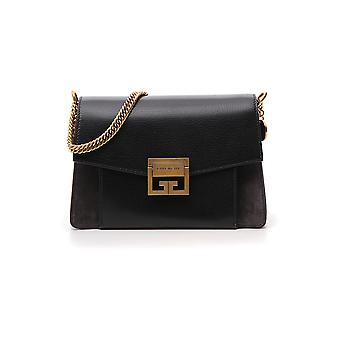 Givenchy Gv3 Black Leather Shoulder Bag