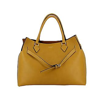 Avenue 67 Yellow Leather Tote