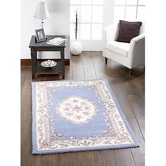 Shensi Shensi Rectangle bleu tapis couvertures traditionnelles