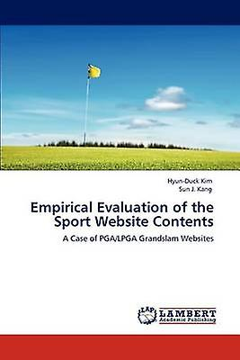 Empirical Evaluation of the Sport Website Contents by Kim & HyunDuck