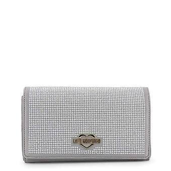 Love Moschino Women Grey Clutch bags -- JC41072944