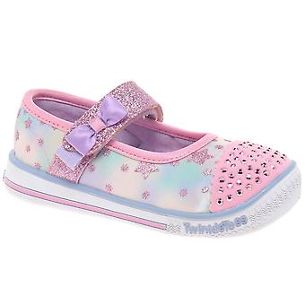 Skechers Twinkle juego chicas zapatos de Mary Jane