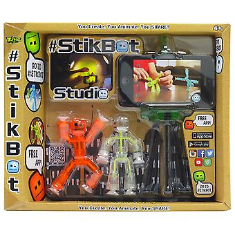 Stikbot S1003 Studio Set (Orange/White/Clear)