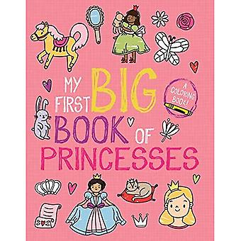 My First Big Book of Princesses (My First Big Book of Coloring)