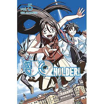 UQ Holder Volume 5 by Ken Akamatsu - 9781612628332 Book