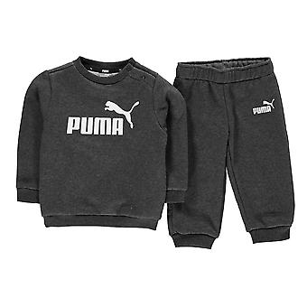 Puma Boys Crew tuta in pile bambino