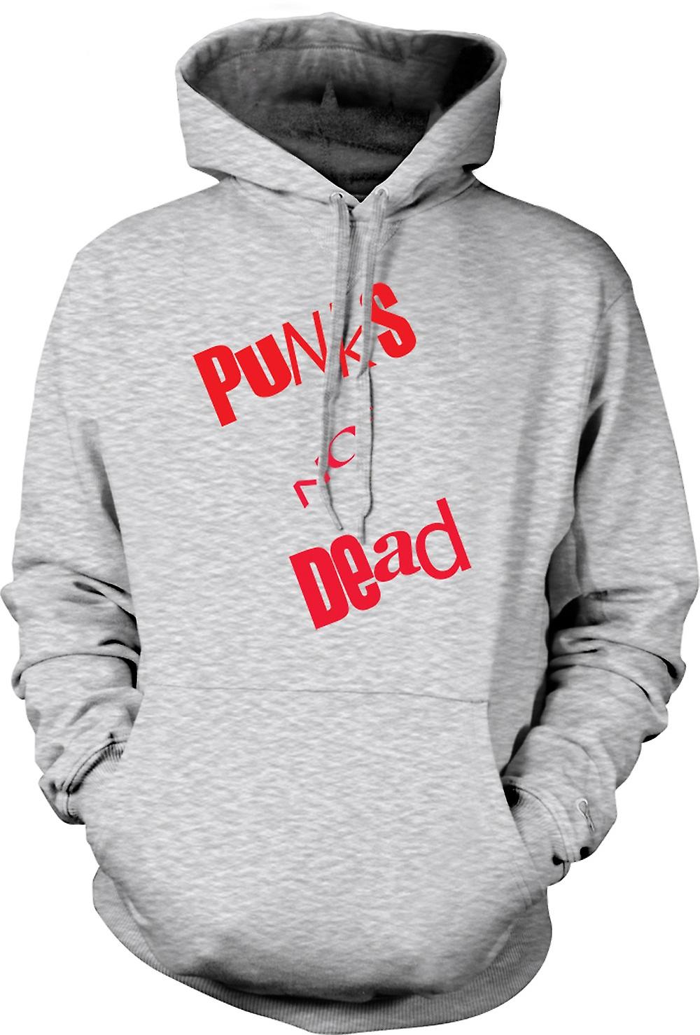 Mens Hoodie - Punks Not Dead - Punk