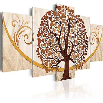 Canvas Print - The Golden Tree of Love