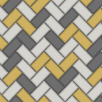 Holden Decor Holden Chevron Tile Pattern Fond d'écran Stripe Glitter Faux Effect Cuisine Salle de bains 89300