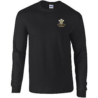 10. Royal Hussars veteran-licenseret British Army broderet langærmet T-shirt