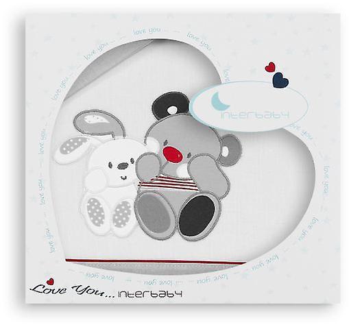 Interbaby Gioco 5 Pz Box Friends (Materiali tessili , Bambini , Biancheria da Letto)