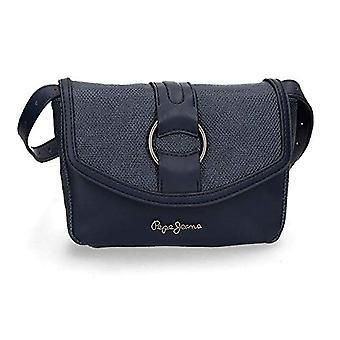Pepe Jeans Daphne Blue 18cm Strap Bag (Blue) - 7744963