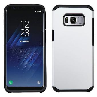 ASMYNA Silver/Black Astronoot Phone Protector Cover for Galaxy S8 Plus