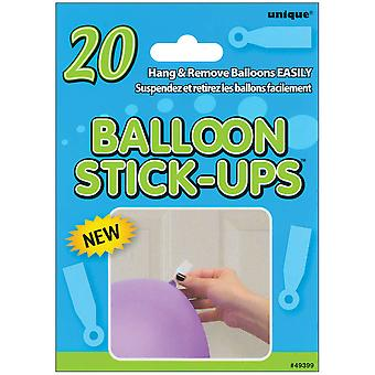 Balloon Stick Ups 20 Pkg 49399