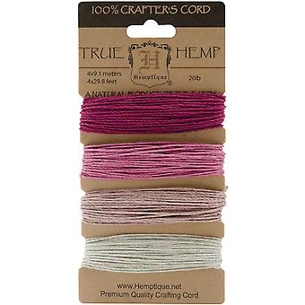Hemp Cord 20# 30 Feet Pkg Ruby Hc20 Sor