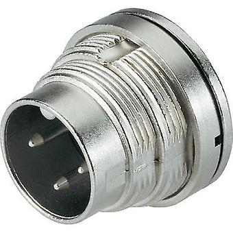 Binder 09-0107-80-03 Series 723 Miniature Circular Connector Nominal current (details): 7 A Number of pins: 3 DIN