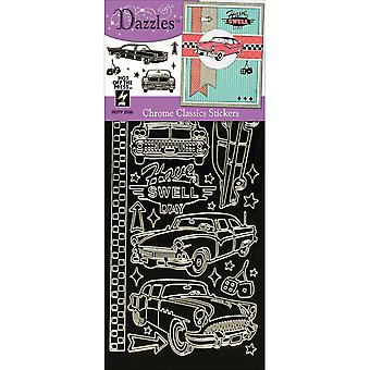 Dazzles Stickers-Classics-Chrome DAZ-2550