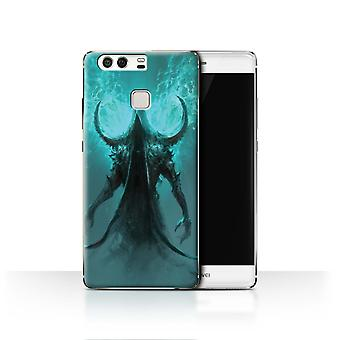 Official Chris Cold Case/Cover for Huawei P9/Cloaked Devil/Dark Art Demon