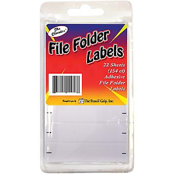File Folder Labels 154/Pkg-White TPG-458