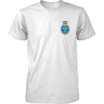 HMS Sceptre - buque desarmado de la Marina Real t-shirt color