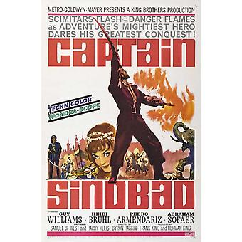 Captain Sindbad Movie Poster Print (27 x 40)