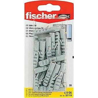 Spring toggle Fischer S 6 GK 30 mm 6 mm 52116 30 pc(s)