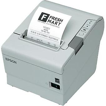 Epson TM-T88V Receipt printer Direct thermal 180 x 180 dpi White USB, Parallel Roll ticket width: 80 mm